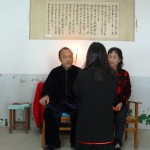 Liping Baishi with Grandmaster Yu