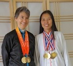 Qi Dragon student Valerie B. won gold medals in Taichi tournament